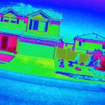 Suburban Surveillance Through Thermal Imaging Camera