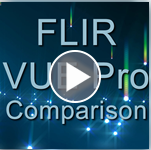 FLIR VUE Pro Thermal 640x480 Comparison: 9mm, 13mm, 19mm
