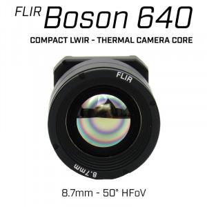 Teledyne FLIR BOSON 640 x 512 8.7mm 50° HFoV - LWIR Thermal Camera Core