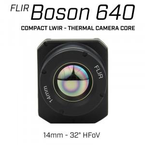 FLIR BOSON 640 x 512 14mm 32° HFoV - LWIR Thermal Camera Core