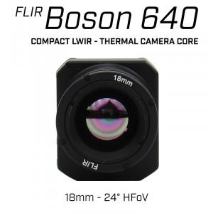 FLIR BOSON 640 x 512 18mm 24° HFoV - LWIR Thermal Camera Core