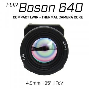 FLIR BOSON 640 x 512 4.9mm 95° HFoV - LWIR Thermal Camera Core
