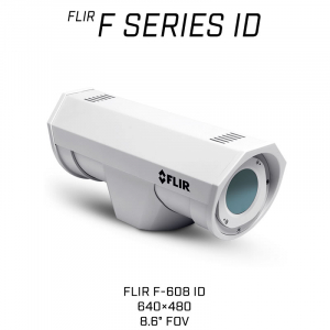 FLIR F-608 ID Thermal Security Camera with on-board analytics
