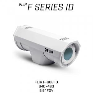 FLIR F-608 ID 640 x 480 75MM 8.6° HFOV - LWIR Thermal Analytics Security Camera