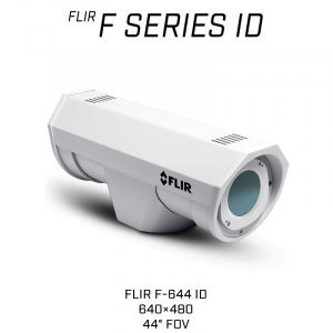 FLIR F-644 ID Thermal Security Camera with on-board analytics