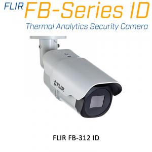 FLIR FB-312-ID THERMAL ANALYTICS SECURITY CAMERA