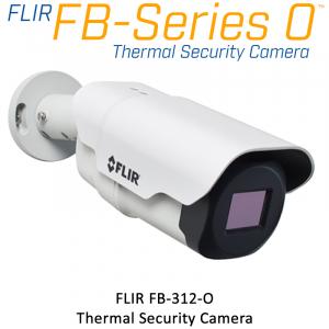 FLIR FB-312-O 320 x 240 18MM 12° HFOV - LWIR Thermal Security Camera