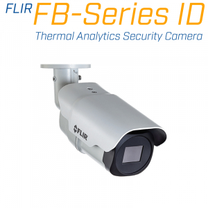 FLIR FB-650 ID 640 x 480 8.7MM 50° HFOV - LWIR Thermal Analytics Security Camera