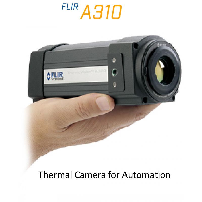 FLIR A310 (30Hz) 18mm Lens 25° FoV Thermal Imaging Camera