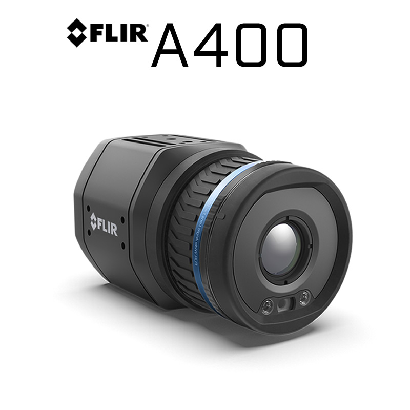FLIR A400 320 × 240 14°, 24°, 42° HFoV - LWIR Thermal Streaming Sensor (Advanced)