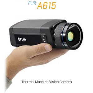 FLIR A615 41.3mm Lens 15° FoV Thermal Machine Vision Camera
