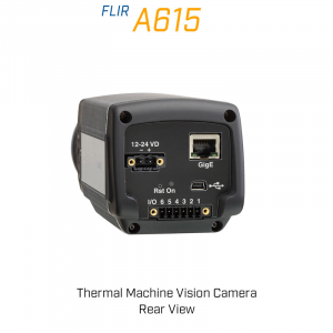 FLIR A615 88.9 mm Lens 7° FoV Thermal Machine Vision Camera