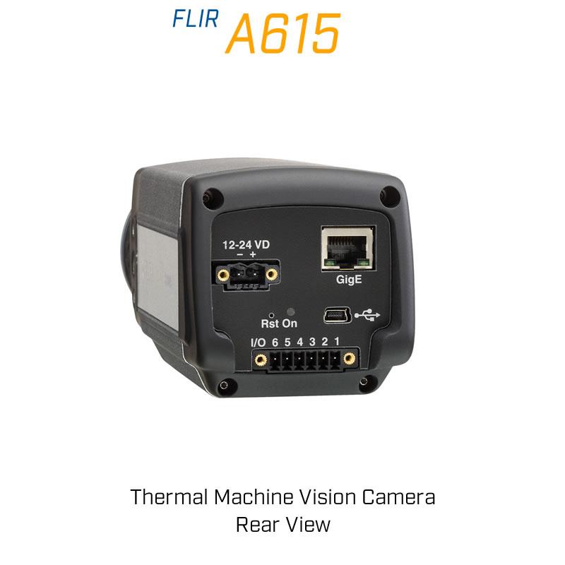 FLIR A615 41.3mm Lens 15° FoV Thermal Machine Vision Camera