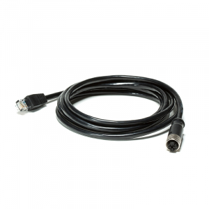 FLIR AX8 6.5ft Ethernet Cable (M12 to RJ45)