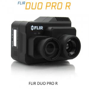 FLIR DUO PRO R 640 x 512 25mm 25°HFoV - LWIR HD DUAL-SENSOR THERMAL CAMERA