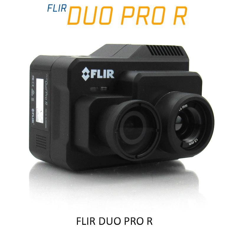 FLIR DUO PRO R 336 x 256 13mm 25°HFoV - LWIR HD DUAL-SENSOR THERMAL CAMERA