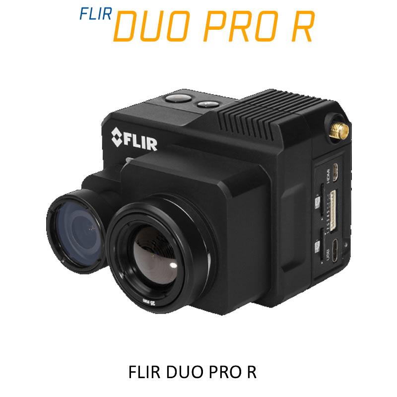 FLIR DUO PRO R 640 x 512 13mm 45°HFoV - LWIR HD DUAL-SENSOR THERMAL CAMERA