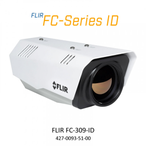 FLIR FC-309-ID 320 x 240 35MM 9.2° HFOV - LWIR Thermal Analytics Security Camera