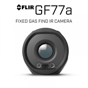 FLIR GF77a 320 x 240 18mm or 74mm 25°, 6° HFoV Fixed Gas Find IR Camera