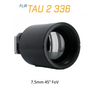 FLIR Tau 2 336 x 256 100mm 3.3°HFoV Thermal Imaging Camera Core 30Hz