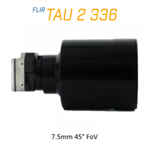FLIR Tau 2 336 x 256 100mm 3.3°HFoV Thermal Imaging Camera Core <9Hz