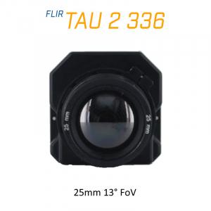 FLIR Tau 2 336 x 256 25mm 13°HFoV - LWIR Thermal Imaging Camera Core 30Hz