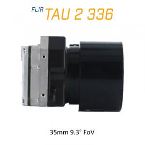 FLIR Tau 2 336 x 256 35mm 9.3°HFoV - LWIR Thermal Imaging Camera Core <9Hz