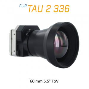 FLIR Tau 2 336 x 256 50mm 5.5° LWIR Thermal Imaging Camera Core <9Hz