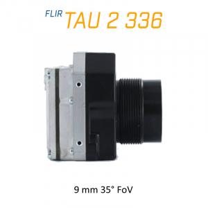 FLIR Tau 2 336 x 256 9mm 35° LWIR Thermal Imaging Camera Core <9Hz