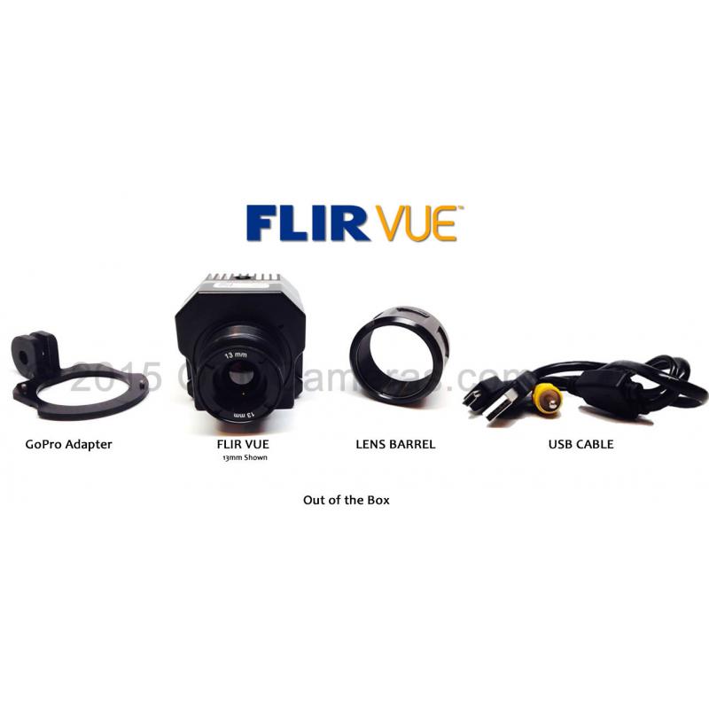 FLIR VUE 640 Thermal Imager 9mm Lens - 30Hz