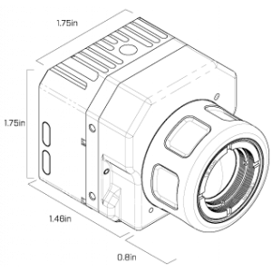 FLIR VUE PRO R 336 x 256 9MM 35° HFOV - LWIR Radiometric Thermal Camera for Drones <9Hz
