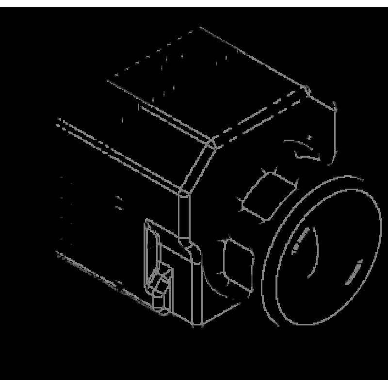 FLIR VUE PRO R 640 x 512 19MM 32° HFOV - LWIR Radiometric Thermal Camera for Drones <9Hz