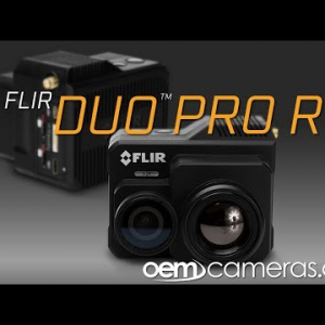 FLIR DUO PRO R 336 x 256 19mm 17°HFoV - LWIR HD DUAL-SENSOR THERMAL CAMERA
