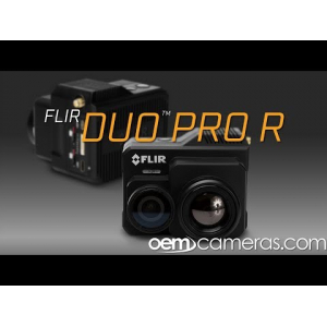 FLIR DUO PRO R 336 x 256 9mm 35°HFoV - LWIR HD DUAL-SENSOR THERMAL CAMERA