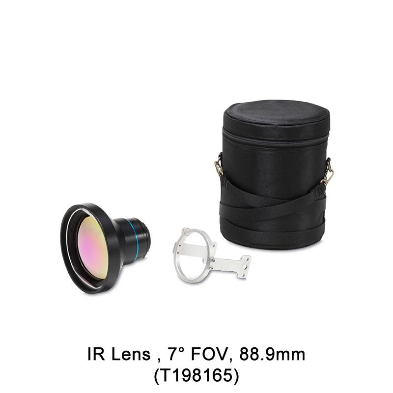 IR Lens , 7° FOV, 88.9mm (T198165)