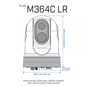 M364C LR PREMIUM MULTISPECTRAL MARINE CAMERA
