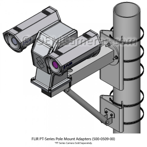 FLIR PT-Series Large Pole Adapter
