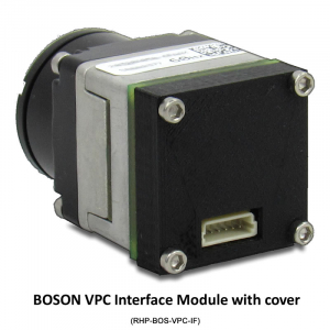 Low Profile BOSON VPC Interface Module with optional EXT. Sync in/out