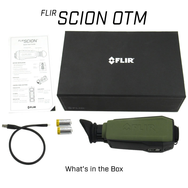 Scion OTM236 Outdoor Thermal Monocular
