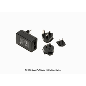 FLIR Gigabit PoE injector 16W,‎ with multi-plugs
