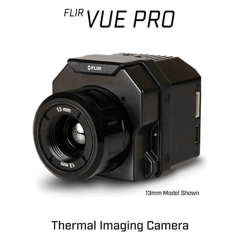 FLIR VUE PRO 336 x 256 13MM 25° HFOV - LWIR Thermal Camera for Drones <9Hz