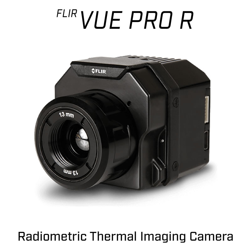 FLIR VUE PRO R 640 x 512 19MM 32° HFOV - LWIR Radiometric Thermal Camera for Drones 30Hz