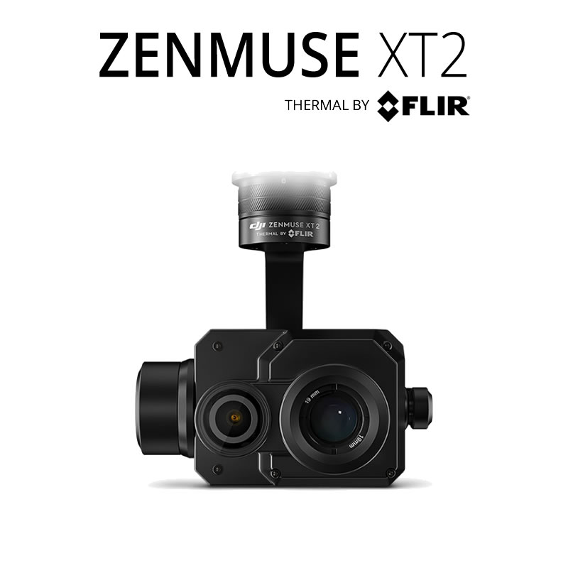 DJI Zenmuse XT2 640 x 512 25°HFoV - LWIR Dual Sensor Thermal Gimbal