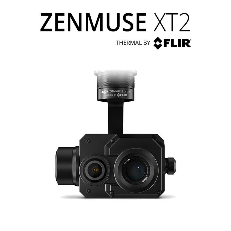 DJI Zenmuse XT2 336 x 256 17°HFoV - LWIR Dual Sensor Thermal Gimbal